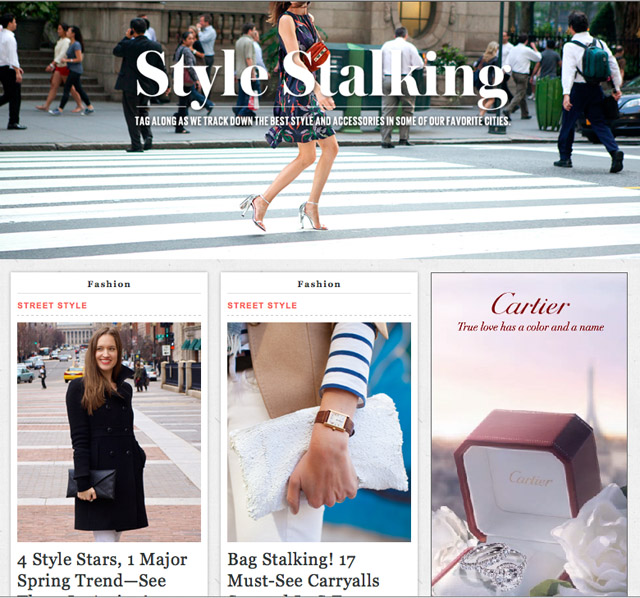 Refinery29, 4 style stars, 1 major spring trend, style stalking, march 7 2013, rachel mlinarchik