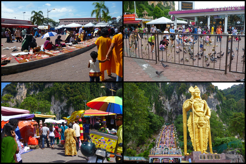 Path to Batu Caves
