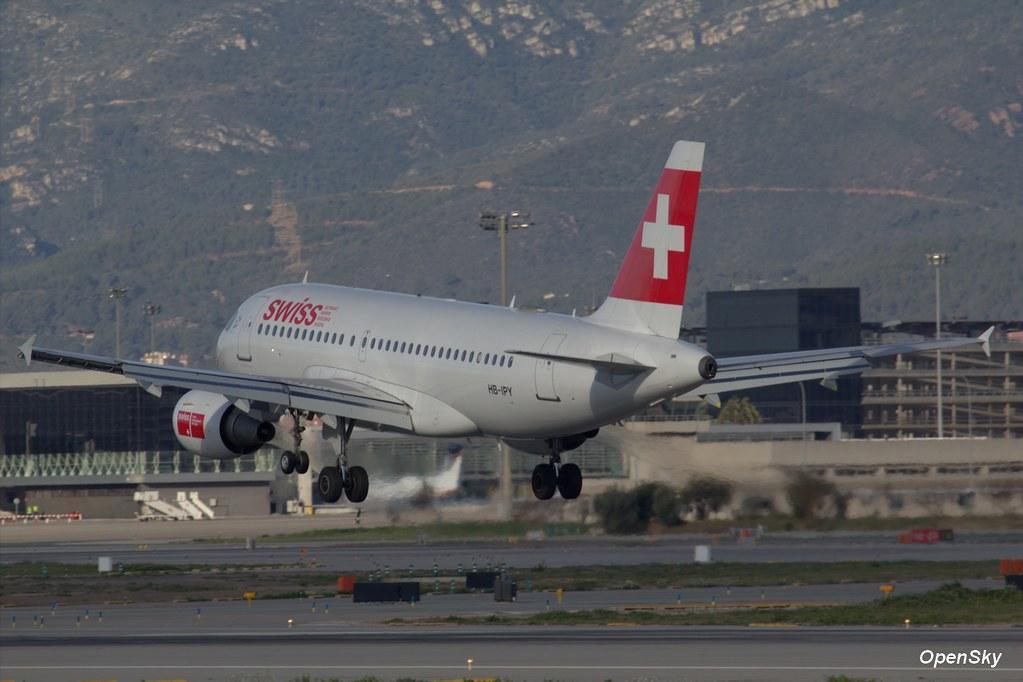 Swiss Airbus A319-112 HB-IPY (cn 621)