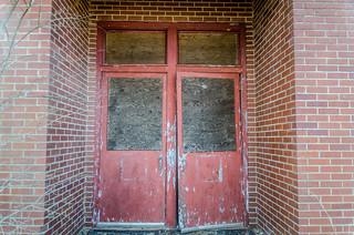 Promised Land School Red Door