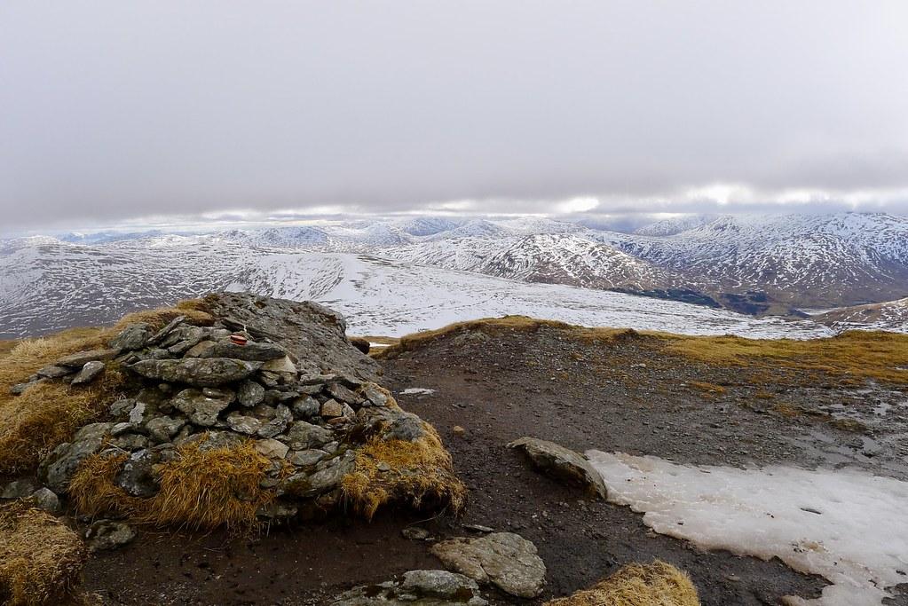 Stuchd an Lochain's summit cairn