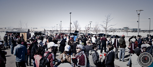 Centennial 38 Tailgate, Colorado Rapids vs Philadelphia Union 10 March 2013 by Corbin Elliott Photography
