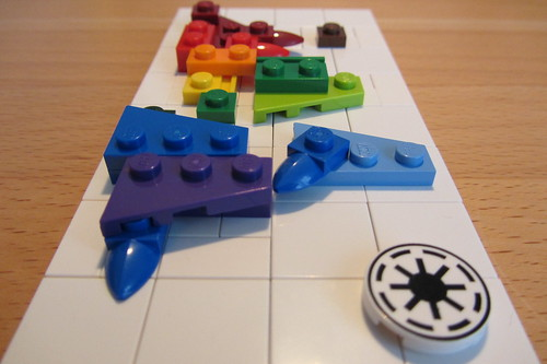 LEGO micro world map - view 3