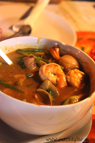 Tom Yum Soup, Food Mama Thai Restaurant