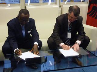 CPF Signing IAEA - Albania (08010015)