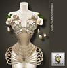 Chrysalis - Couture Corset *New Colors*