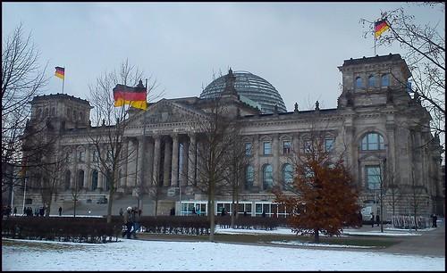 Parlamento alemán. Berlín