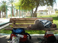 Sleeping in Eilat