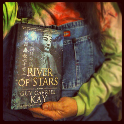 Oh, productivity...how I miss you...but not right now, 'K? #GuyGavrielKay #RiverOfStars #swoon