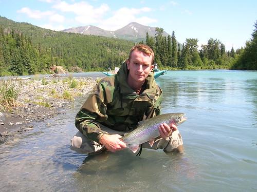 Rainbow trout Alaska Greg Rodgers