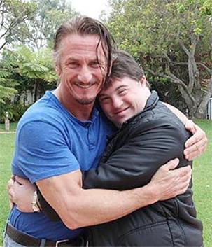 Sean Penn e Ariel Goldenberg
