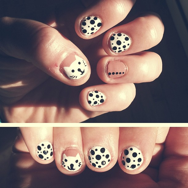 mee-ow! #nails