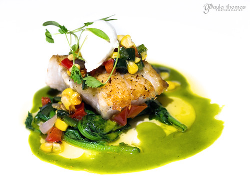 Pan Roasted Ling Cod