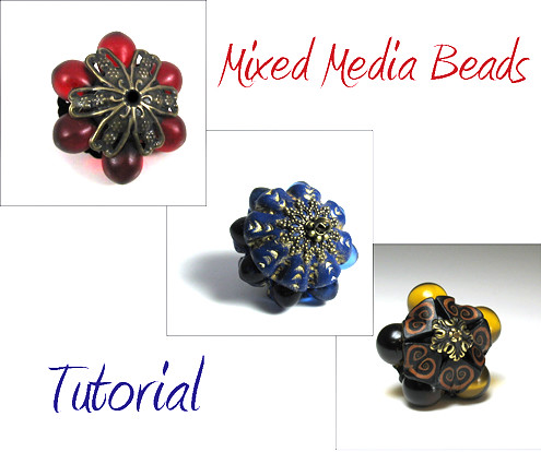 Tutorial Mixed Media Beads