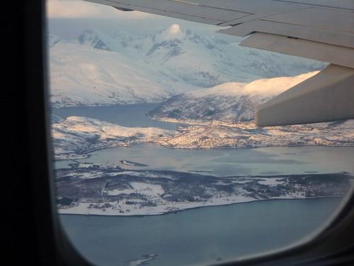 Atterrissage à Tromsø