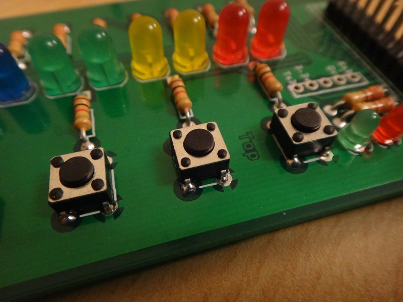 Pi Ladder Board Buttons