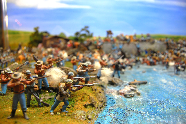 The American Civil War, at Miniature World