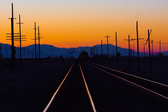 Train Names Sunset