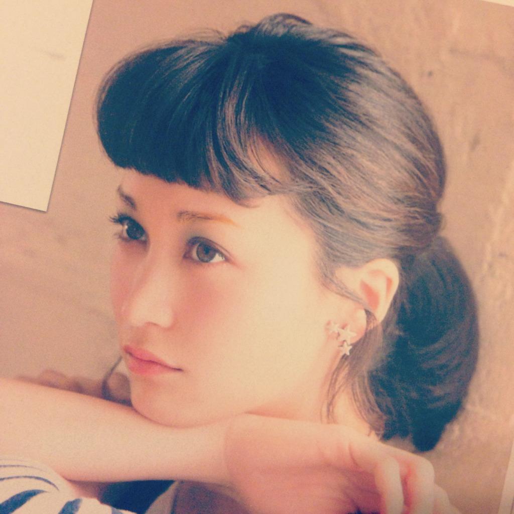 黒田エイミ 前髪カール