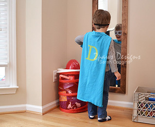 DIY Superhero Costume