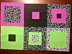 April Block for Sew.Quilt.Give.