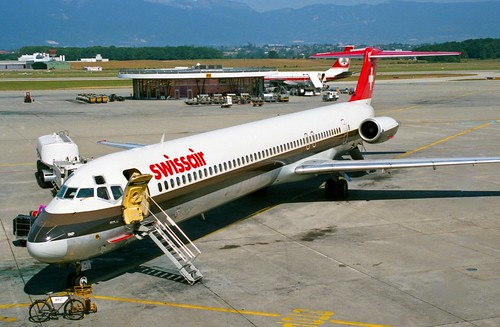 HB-INP MD-81 Swissair