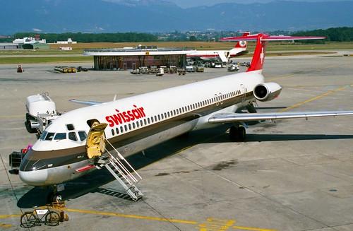 HB-INP MD-81 Swissair