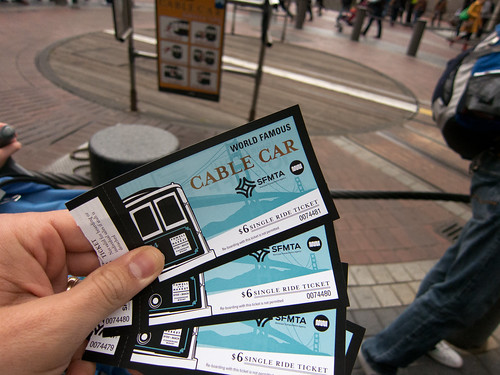 Cable Car Tickets