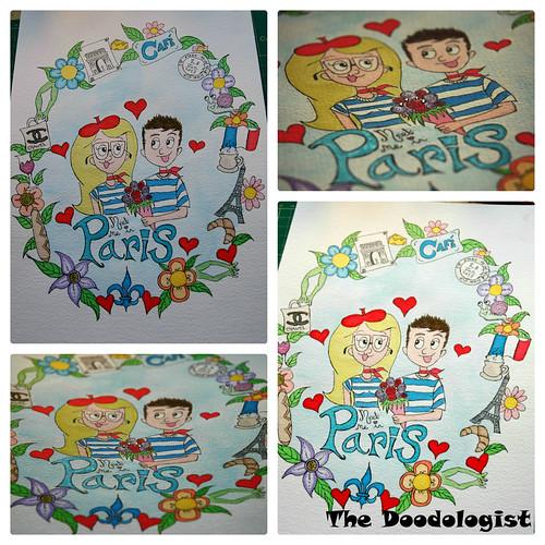 Paris doodle compilation