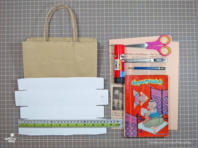 diy making book jacket from toothpaste boxes01
