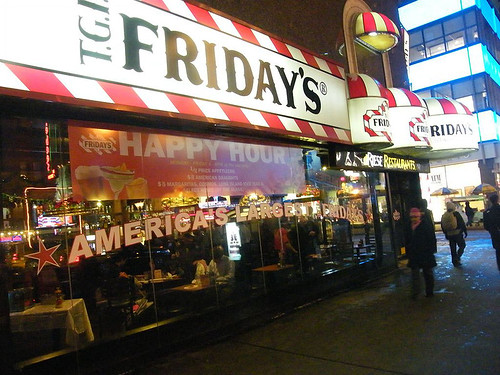 T.G.I. FRiDAY'S NYC