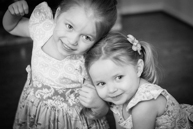 Vivianne & Lilah, Easter 2013