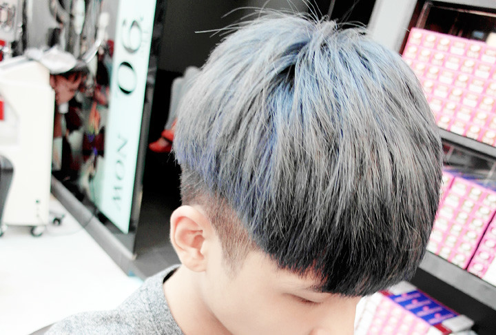 ash blue hair colour