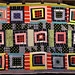 Eli Leon's improv quilt by daintytime