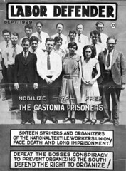 N_98_9_180 Group photo of Gastonia Mill workers imprisoned for striking