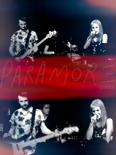 PARAMORE @ THE GARAGE
