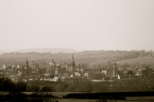 Oxford - the City of dreaming spires!