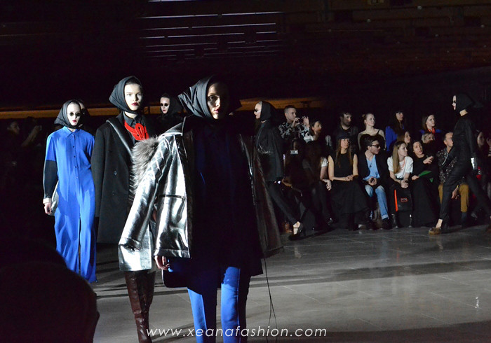 Fashion show BEssARION on MBFW FW 2013/2014