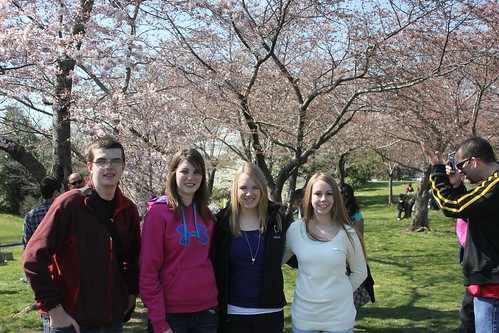Iowa Delegates at the Cherry Blossom Festival