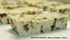 BOUCHON BAKERY: Bacon Cheddar Scones