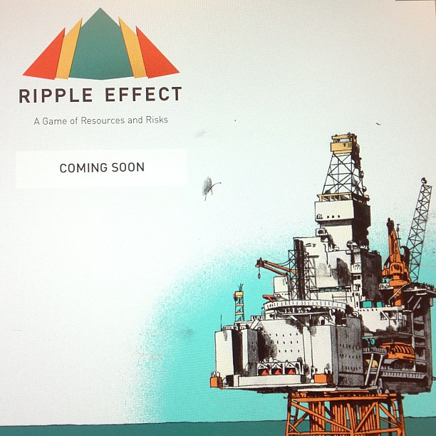 Pre-announcing our next game. See if you can find it. #kaigara #rippleeffect