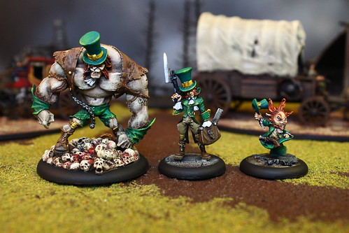 Resurrectionist Miniatures from the World of Malifaux the War Game