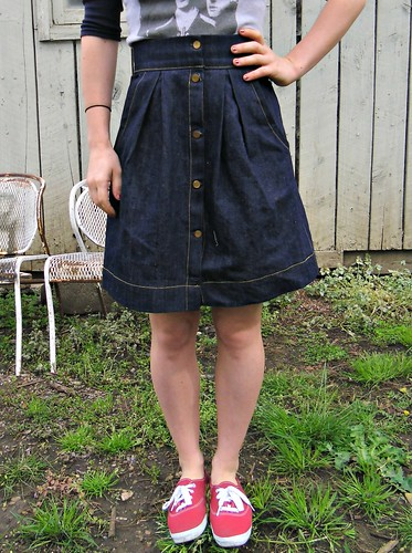 Denim Kelly Skirt
