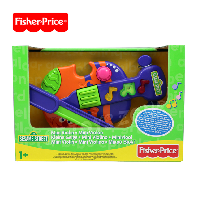 Sesame Street Musical Toys : New fisher price sesame street mini violin pre school kids