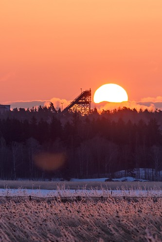morning sunrise finland helsinki vanhankaupunginlahti april herttoniemi 2013 skijumptower canoneos7d adobelightroom4 me2youphotographylevel1