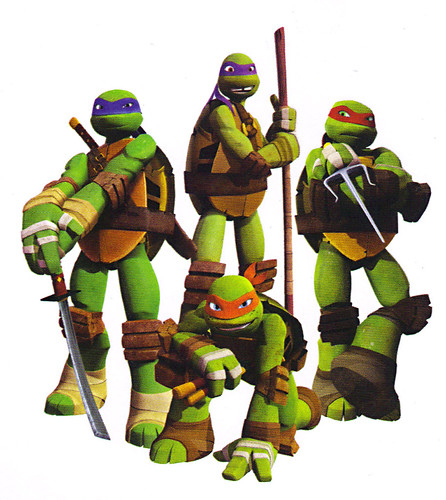 "AMERICAN GREETINGS :: ""NICKELODEON"" TEENAGE MUTANT NINJA TURTLES - ""YOU CAN'T BEAT THIS..."" Pop-up Birthday card iv // ..Teens isolated  (( 2013 ))"