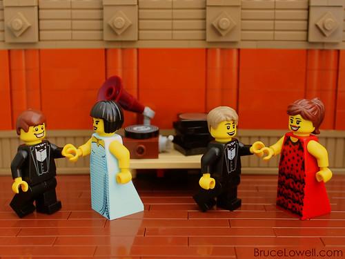 LEGO Gramophone