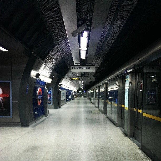 London Bridge #EmptyUnderground