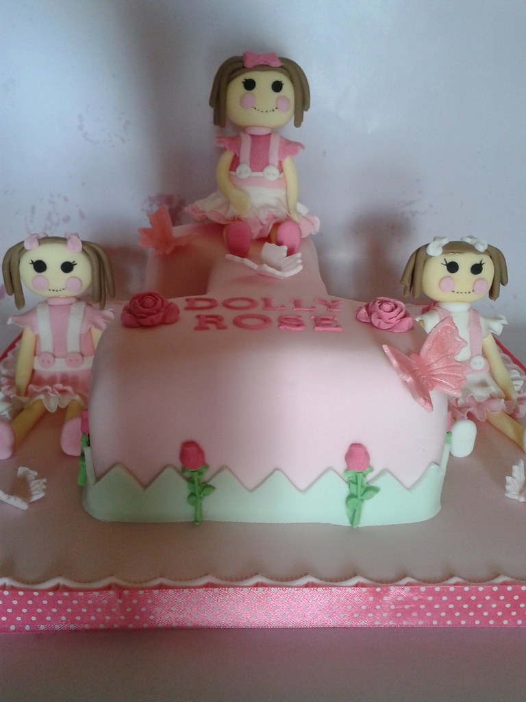 Pictures Of Birthday Cake With Linda On It