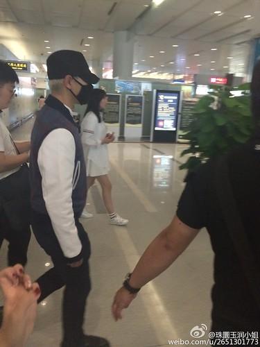 BIGBANG GDTOPDAE arrival Hangzhou 2015-08-25 155